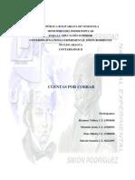 Informe Cuentas Por Cobrar ad II