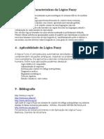 Principais Características da Lógica Fuzzy