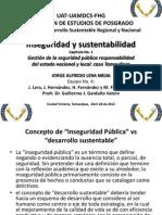 Presentación power del trabajo Inseguridad de JLM