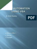 Web Automation Using Vba
