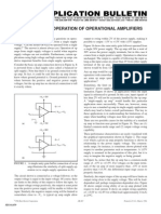 Opamp Single Supply Operation Appnote