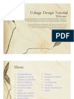 Foliage Design Tutorial