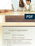 Ergonomia e Fisiologia Do Trabalho
