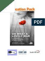 Oh What a Lovely War Teachers Pack