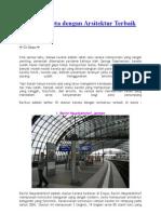 Stasiun Kereta Dengan Arsitektur Terbaik Di Dunia