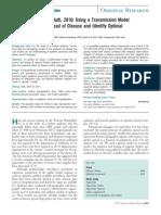 Cholera Article Annals of Internal Medicine