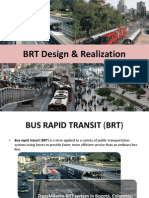 Bus Rapid Transit (BRT) Design