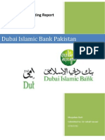 dubai islamic bank pakistan internal auditing department