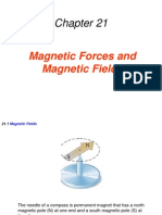 21 Magnetic Forces and Magnetics Fields
