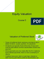 073_C5 Equity Valuation