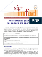 ASSISTENZA AL PAZIENTE NEL PRE OPERATORIO DOSSIER INFAD