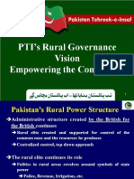 PTI Rural Governance Vision