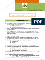 Sheet6 - Polymers Structures