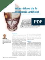 Limites Eticos de La Inteliencia Artificial