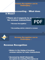 Revenue Recognition AR
