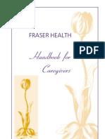 Handbook for Caregivers