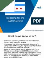 625 N Mich NATO Summit Preparation