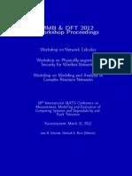 Workshop Proceedings