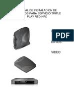 Manual de Instalaciones de Sistema Tv Digital