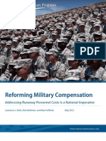 Reforming Military Compensation