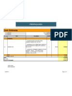 01.Cost Estimate Modificari Site 30.11.2010