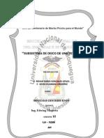 SUBSISTEMA DE DISCO DE UNA PETICIÓN
