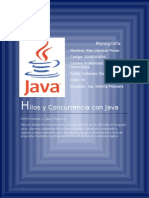 Hilos y Concurrencia Con Java