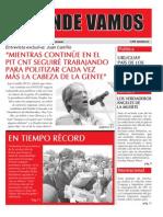 """Mensuario """"A Donde Vamos"""", Mayo 2012"""