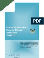 Sistema de Gestión de Historias  Clínicas -veterinarias Mypets Cap 01