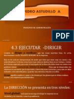 4.3 DIRECCIÓN