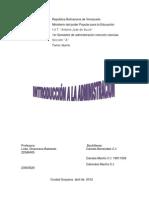 trabajo de ANTECEDENTES HISTORICOS DE LA ADMINISTRACIÓN(daniela)