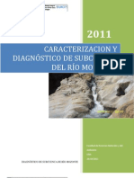 CARACTERIZACION Y DIAGNÓSTICO DE SUBCUENCA DEL RÍO MOZONTE