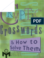 Cryptic Crosswords & How to Solve Them