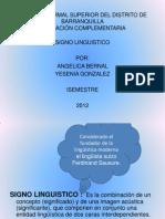 Diapositivas Del Signo Linguistico
