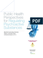 Public Health Perspectives for Regulating Psychoactive Substances