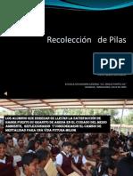 RECOLECCION DE PILAS. PROYECTO