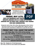 May 11 NYC Mass Mobilization for Jobs & Housing