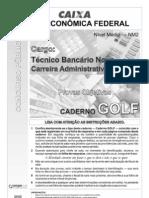 Cespe 2010 Caixa Tecnico Bancario Prova