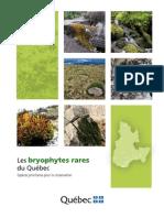bryophytes rares du Québec