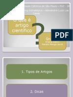 oqueartigocientfico-19ago08-090328153947-phpapp01