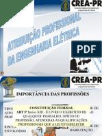 APRESENTAÇÃO Atribuições Engenharia Elétrica v.04