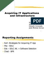 Acquiring IT App