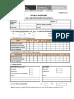 Ficha Monitoreo DAIP 2008