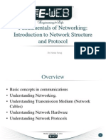 Introduction to Network Structure and Protocol