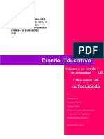 diseño educativo Diabetes