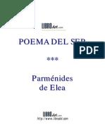 Poema del ser - Parménides