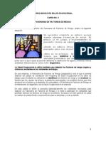 Panorama de Factores de Riesgos.