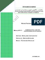 M17 - Communication à des fin professionnelles en français - HT-TSGH