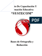 Ortografia y Redaccion Manual