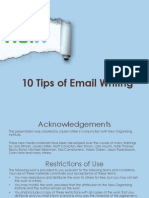 Tips for Writing Email